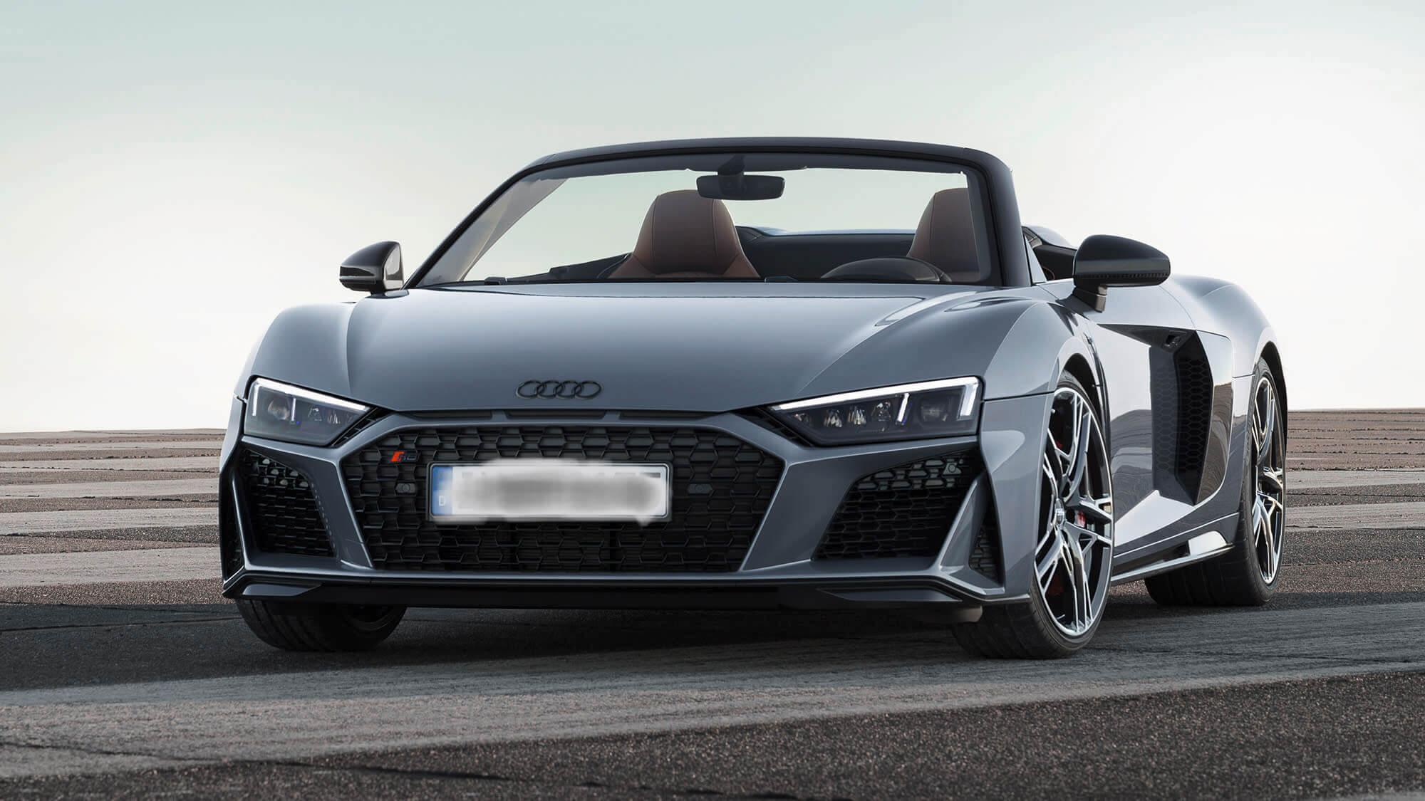 Audi R8 Spyder V10-front