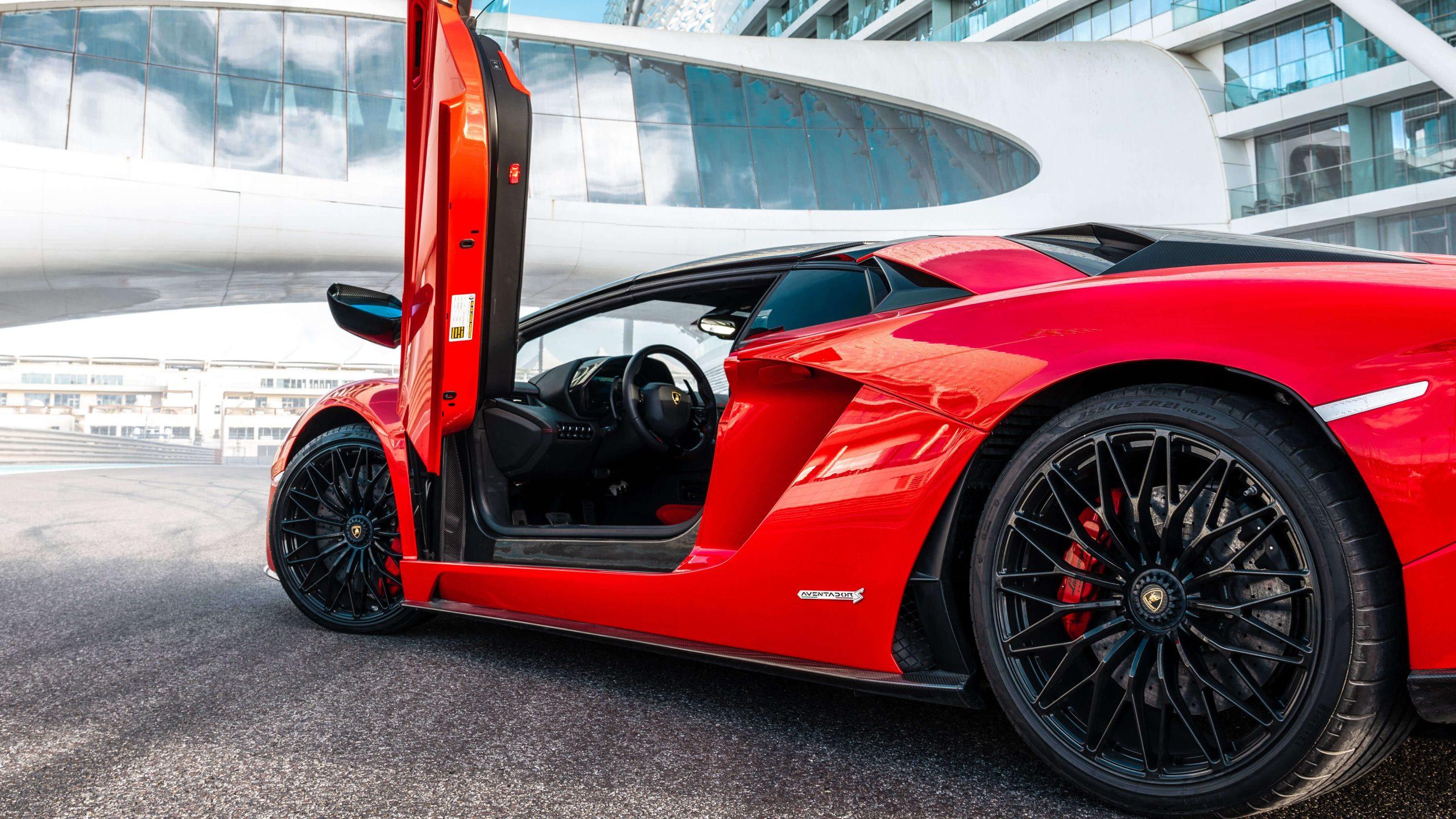 Lamborghini Aventador S hire