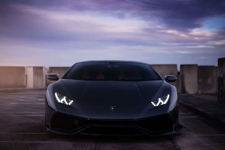 Lamborghini Huracan hire black