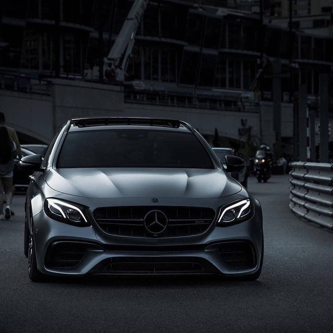 Mercedes E63s AMG-front