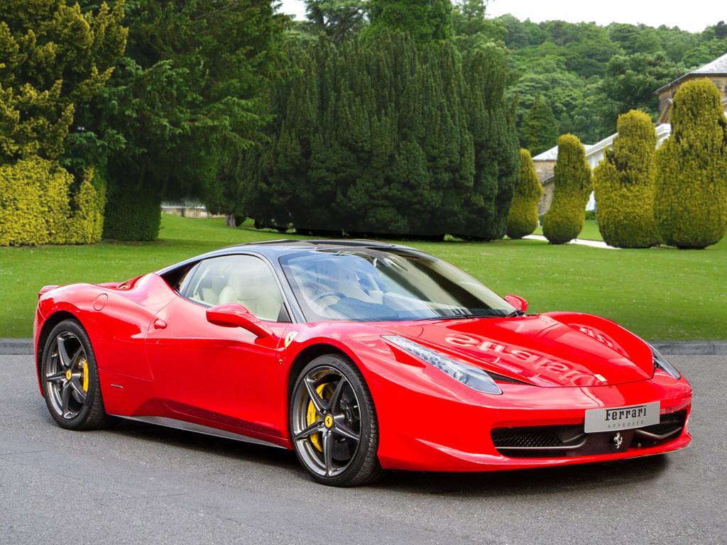 Ferrari 458 Italia Hire Limoandsupercarhire