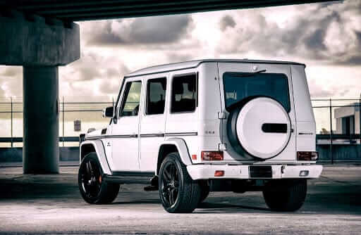 MERCEDES G63 AMG HIRE SIDE